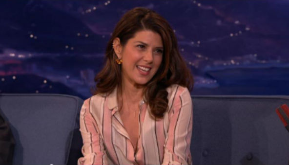 Marisa Tomei Talks With Conan O Brien About Slaughtering