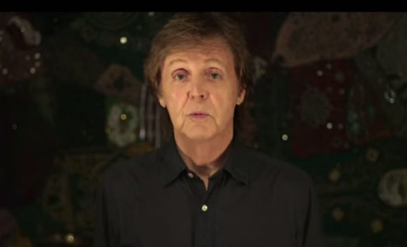 Paul McCartney launches a Meat Free Monday campaign.