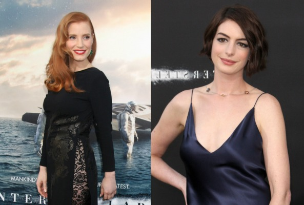 jessica chastain and anne hathaway