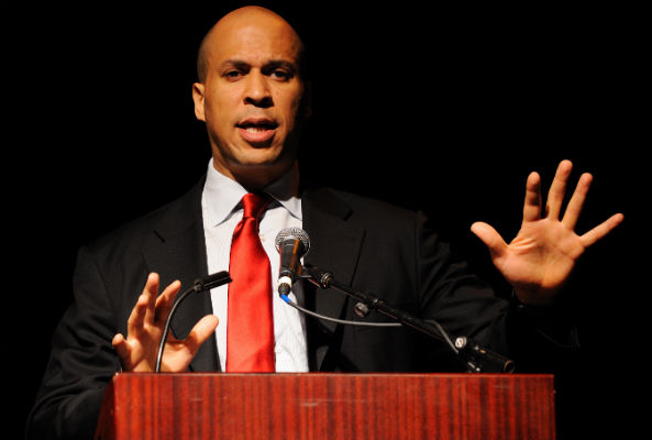 U.S. senator Cory Booker, noted vegetarian, announced on Twitter this week that he plans to eat vegan for the rest of the year.