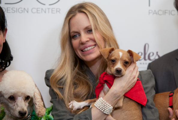 Actress Kristin Bauer van Straten wants consumers to shop cruelty-free this holiday season by selecting beauty products that haven't been tested on animals.