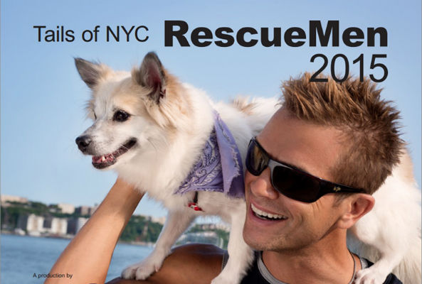 Just in time for the holiday season comes the 2015 NYC Rescue Man Calendar featuring hot guys and their adorable rescue pets.