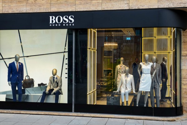 hugo boss goes fur free